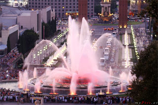 Barcelona Magic Fountains Wasserspiele