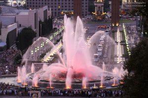 Magische Springbrunnen Font Magica Barcelona