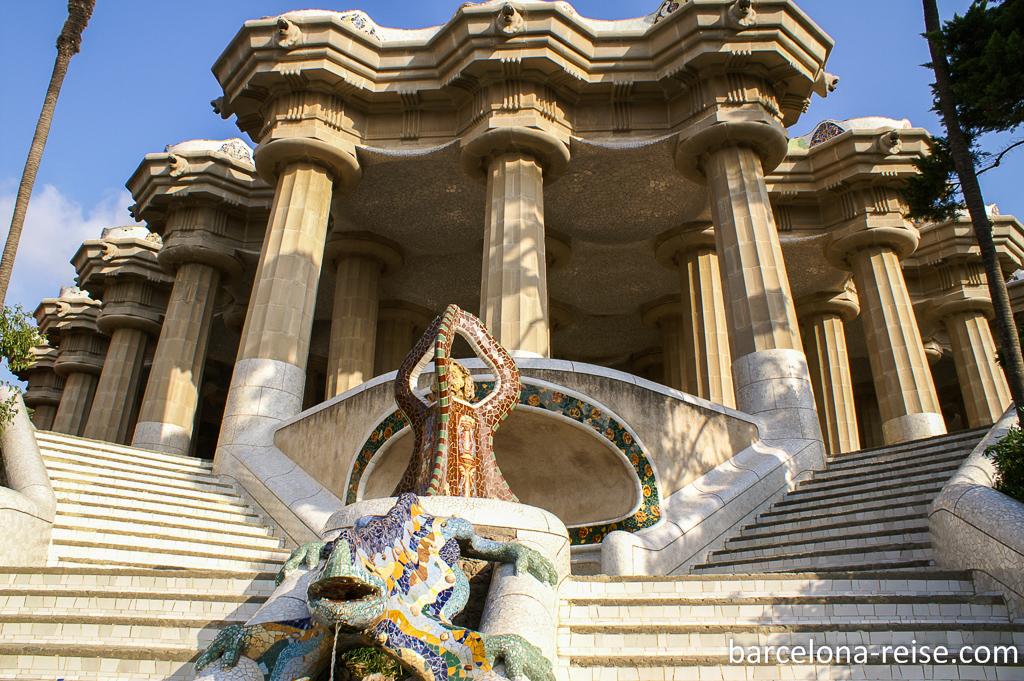 Park Güell: Der schönste Park in Barcelona