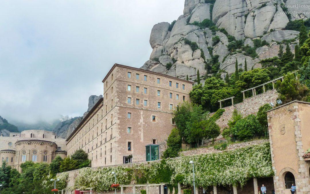 Ausflug zum Kloster Montserrat bei Barcelona