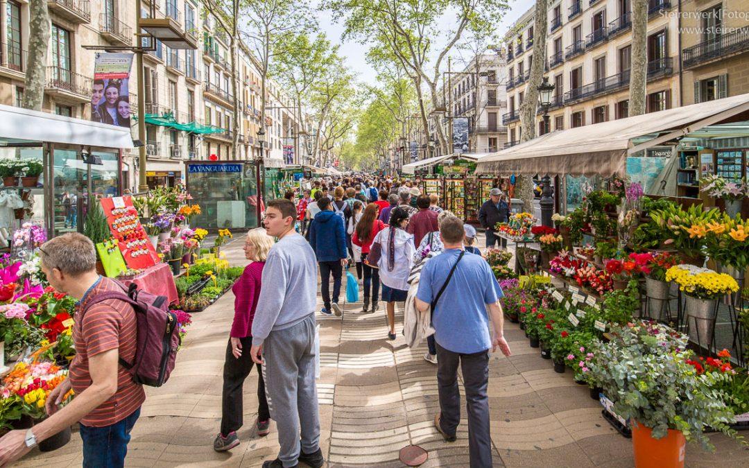 La Rambla: Die Flaniermeile in Barcelona